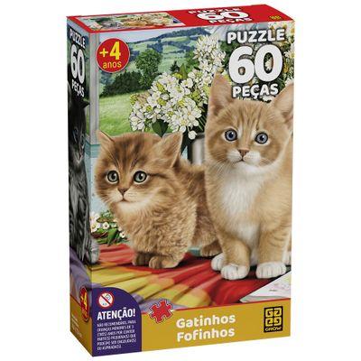 Quebra-Cabeca---Gatinhos-Fofinhos---60-Pecas---Grow-0