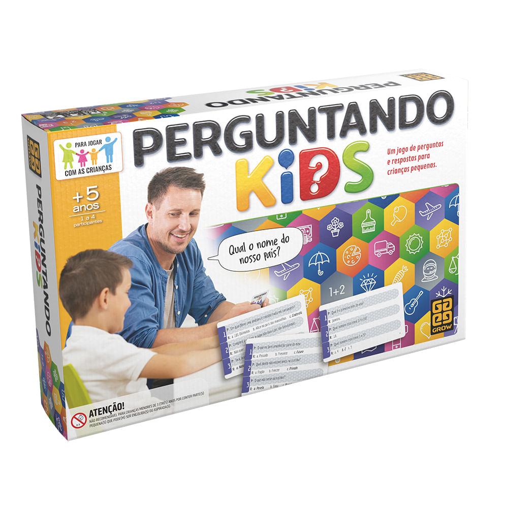 Jogo - Perguntando Kids - Grow