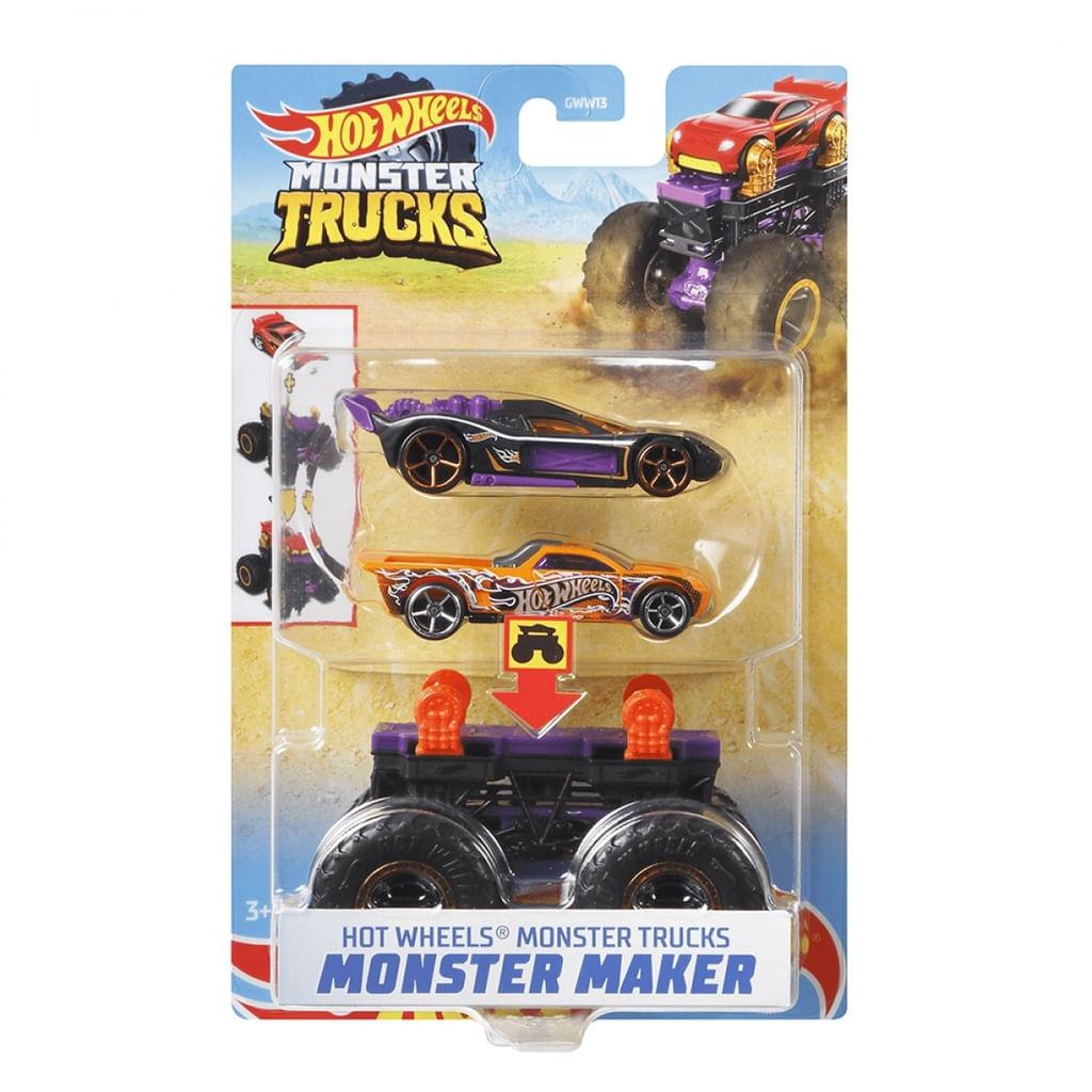 Hot Wheels - Monster Truck - Criador de Monstro Roxo Mattel