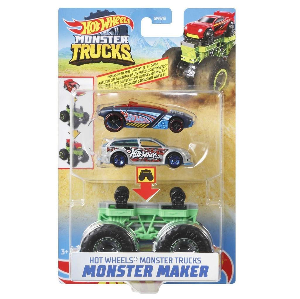 Hot Wheels - Monster Truck - Criador de Monstro Verde Mattel