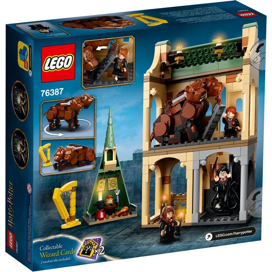 Bloco-de-Montar---Harry-Potter---HogwartsT---Fluffy-Encounter---Lego-1