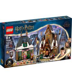 Bloco-de-Montar---Harry-Potter---HogsmeadeT---Village-Visit---Lego-0
