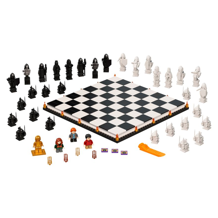 Bloco-de-Montar---Harry-Potter---HogwartsT---Wizard-s-Chess---Lego-2