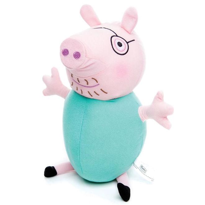Pelúcia Papai Pig - Peppa Pig - Estrela