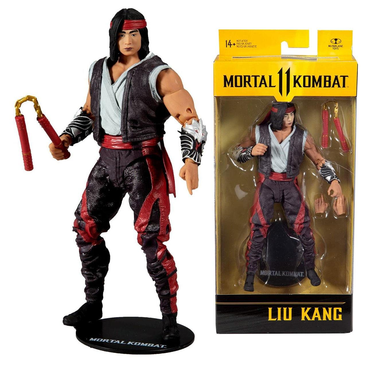Boneco Liu Kang - Mortal Kombat 11 Action Figure - Mcfarlane