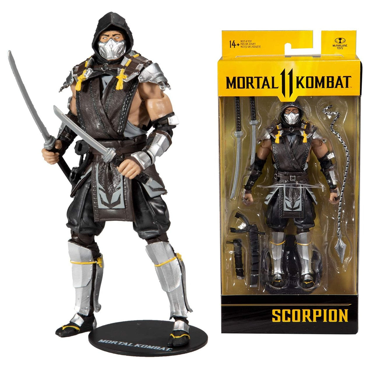 Boneco Scorpion - Mortal Kombat 11 Action Figure - Mcfarlane