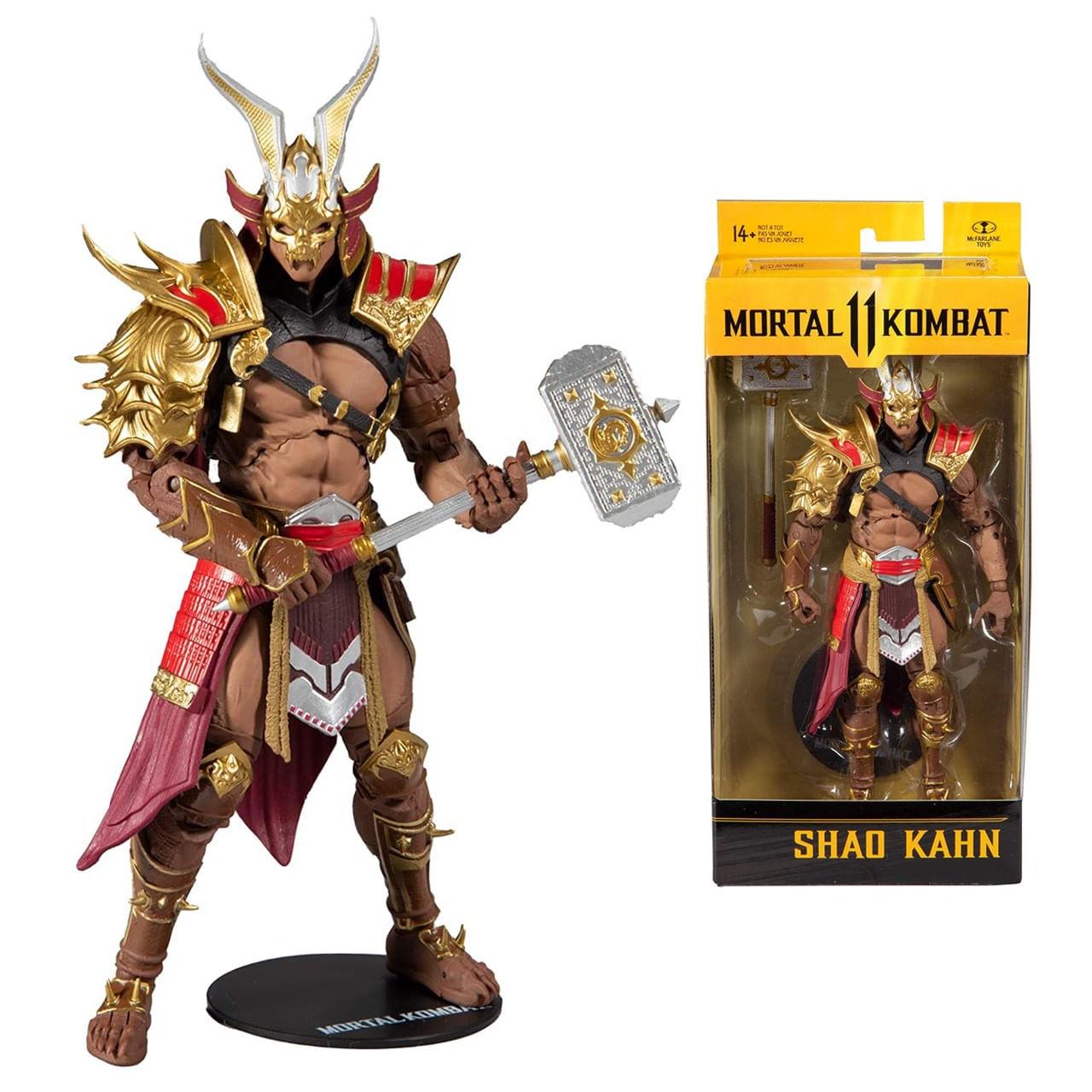 Boneco Shao Kahn Mortal Kombat 11 Action Figure - Mcfarlane