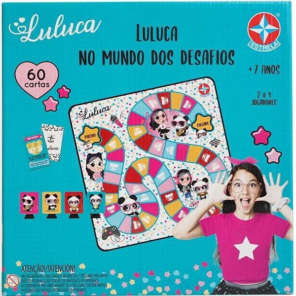 Jogo Luluca NO Mundo dos Desafios Estrela 0161