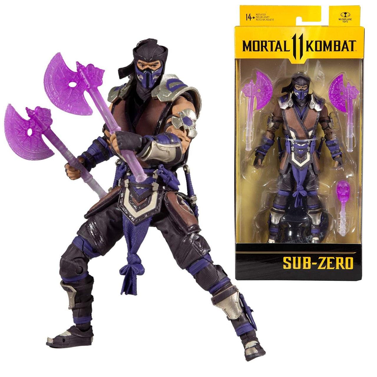 Boneco Sub Zero - Mortal Kombat 11 Action Figure - Mcfarlane