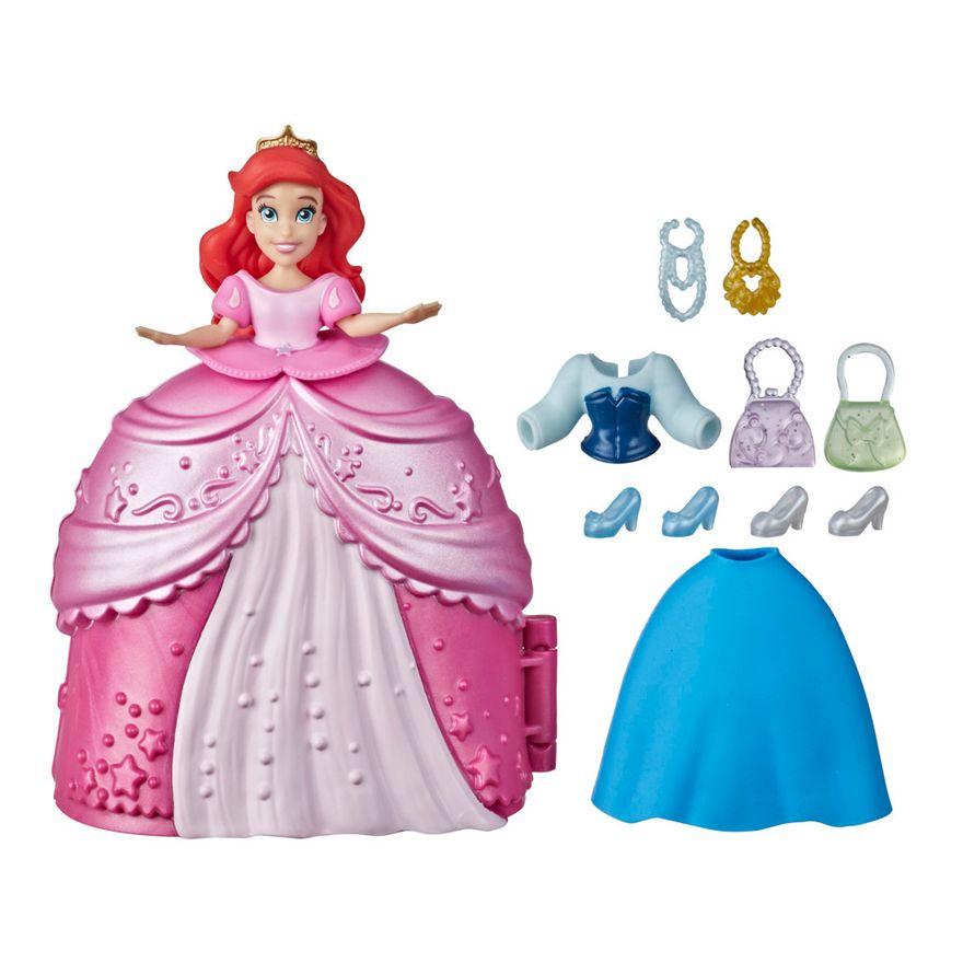 Mini-Boneca-Disney---Princesa-Ariel---Secret-Styles-Fashion---Hasbro-0