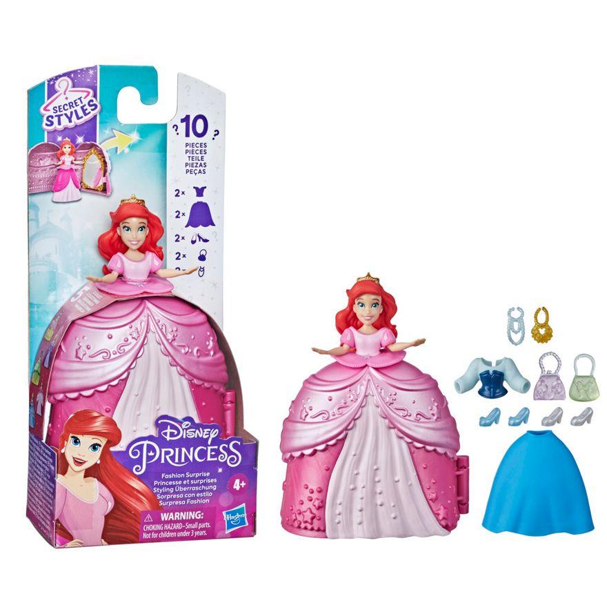 Mini-Boneca-Disney---Princesa-Ariel---Secret-Styles-Fashion---Hasbro-2