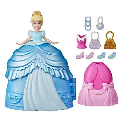 Mini-Boneca-Disney---Cinderela---Secret-Styles-Fashion---Cinderela---Hasbro-0