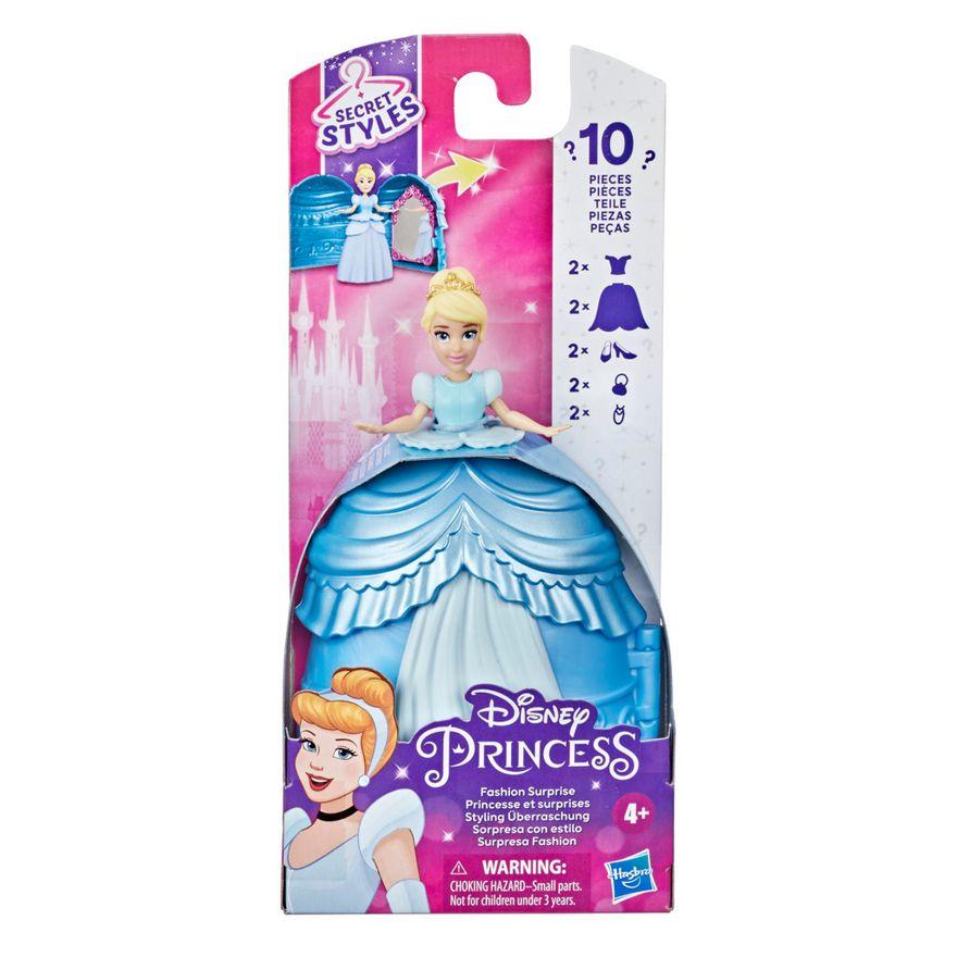 Mini-Boneca-Disney---Cinderela---Secret-Styles-Fashion---Cinderela---Hasbro-1