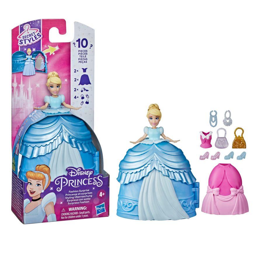 Mini-Boneca-Disney---Cinderela---Secret-Styles-Fashion---Cinderela---Hasbro-2
