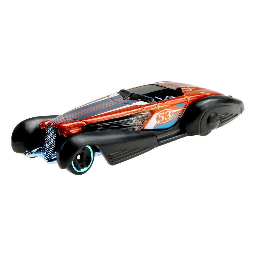 Mini-Veiculo---Hot-Wheels-Collector---Orange---Blue---Custom-Cadillac-Fleetwood---Mattel-1