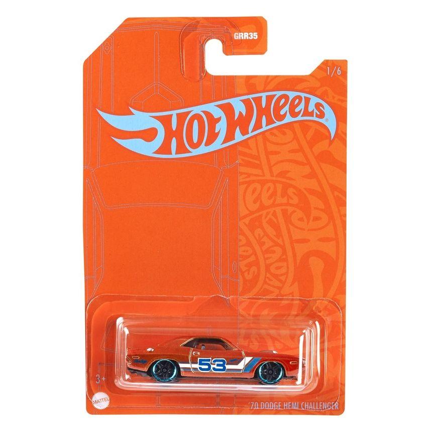 Mini-Veiculo---Hot-Wheels-Collector---Orange---Blue---70-Dodge-Hemi-Challenger---Mattel-0