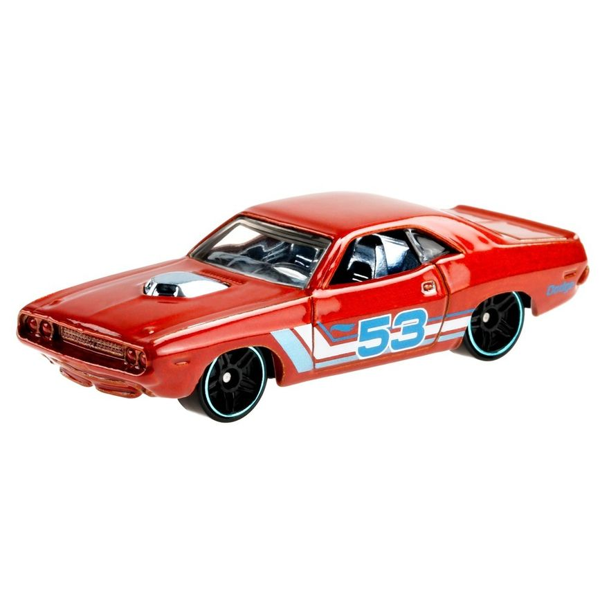 Mini-Veiculo---Hot-Wheels-Collector---Orange---Blue---70-Dodge-Hemi-Challenger---Mattel-1