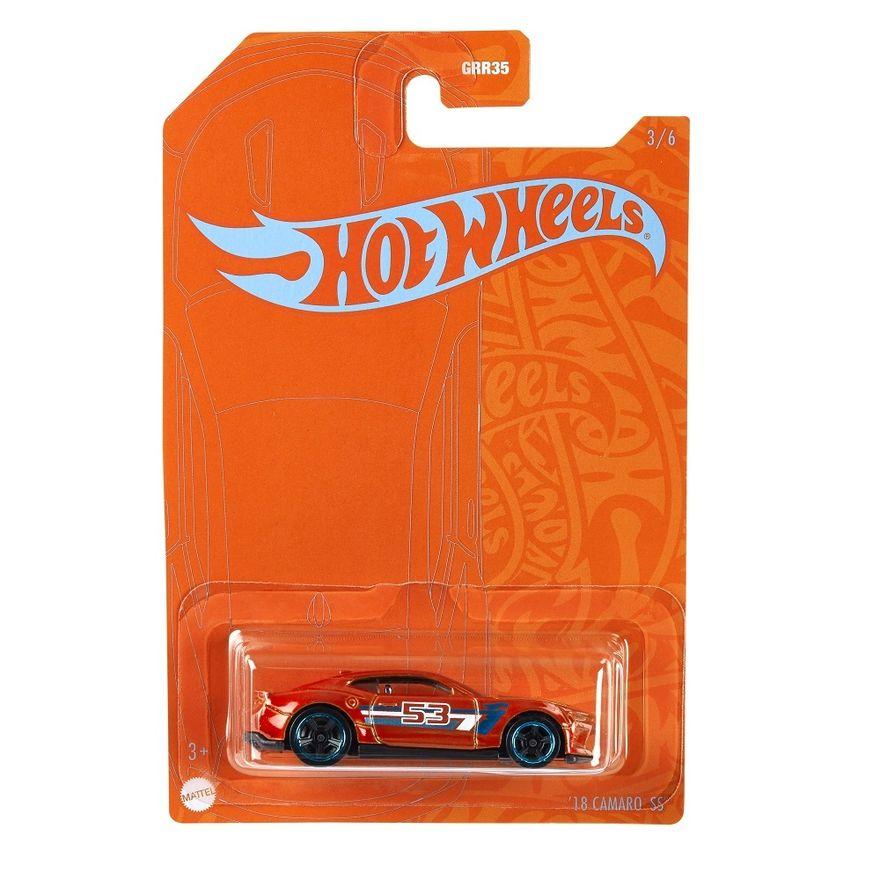 Mini-Veiculo---Hot-Wheels-Collector---Orange---Blue---18-Camaro-SS---Mattel-0