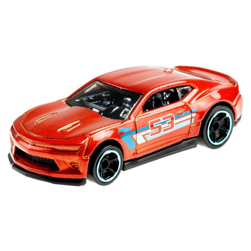 Mini-Veiculo---Hot-Wheels-Collector---Orange---Blue---18-Camaro-SS---Mattel-1