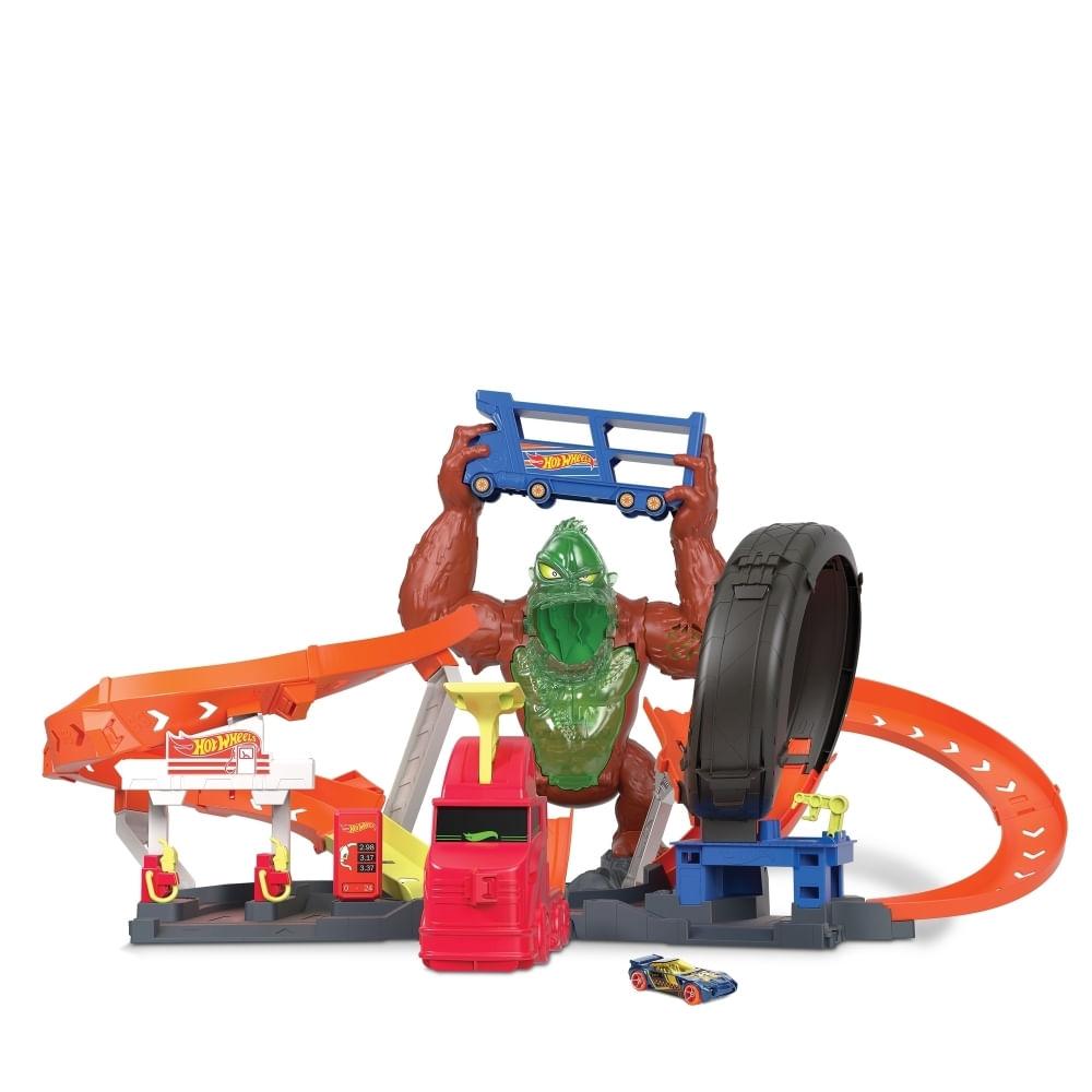 Hot Wheels - City - Ataque do Gorila - Mattel