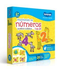 Quebra-Cabeca---Montando-os-Numeros-do-1-ao-20---20-Pecas---Toyster_Frente
