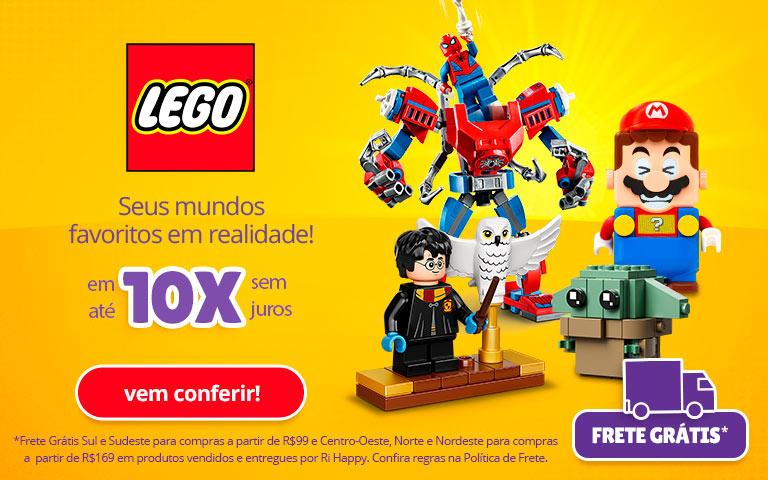 Fullbanner - Mobile - Lego 10x sem juros - act