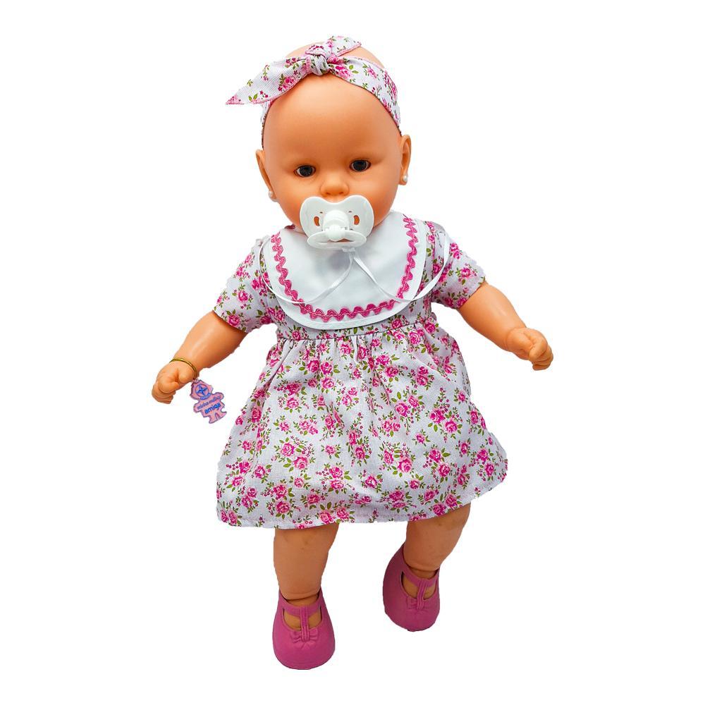 Boneca Nenezinho Estrela Vestido Rosa 3+