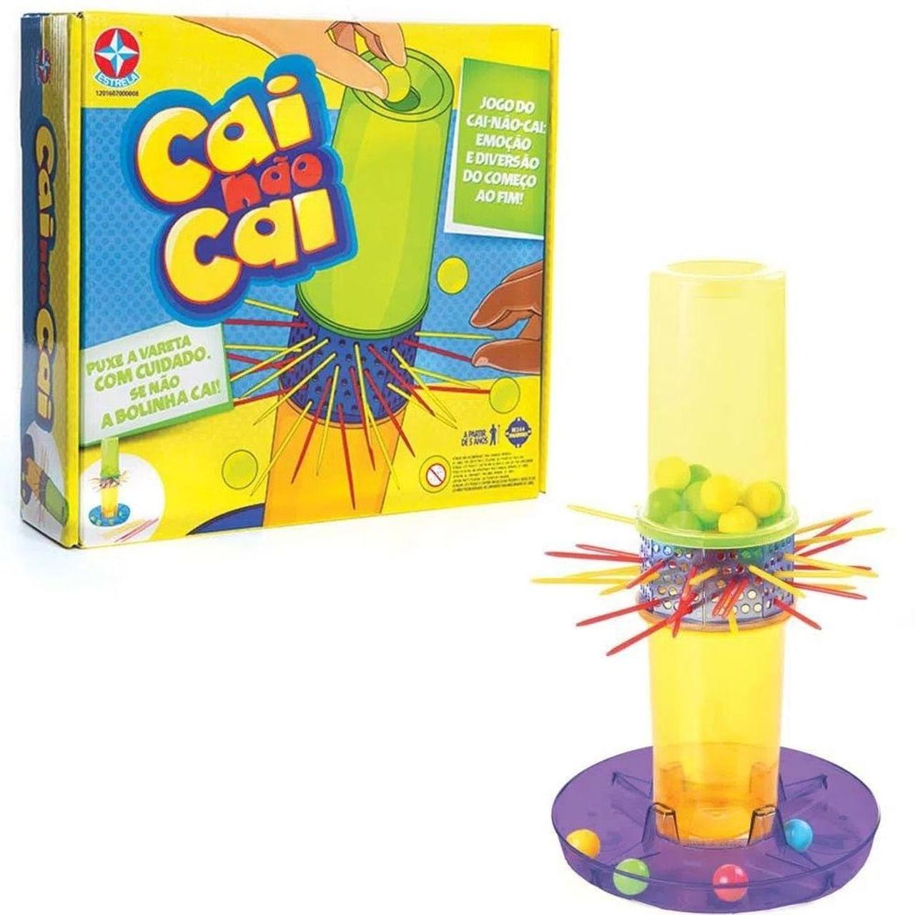Jogo de Tabuleiro - Cai Não Cai - Estrela Brinquedo