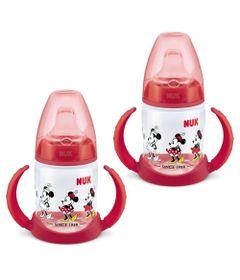 100433856-Kit-de-Copos-de-Treinamento---First-Choice---150ml---Disney---Minnie---Nuk