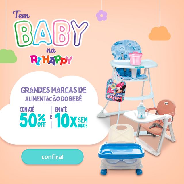 Fullbanner - Mobile - Grandes Marcas de Alimentação do Bebê com até 50% OFF - act