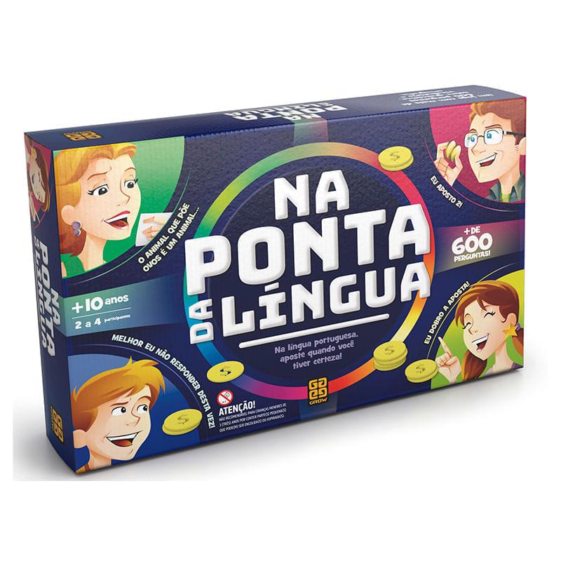 Jogo Na Ponto da Língua - Grow
