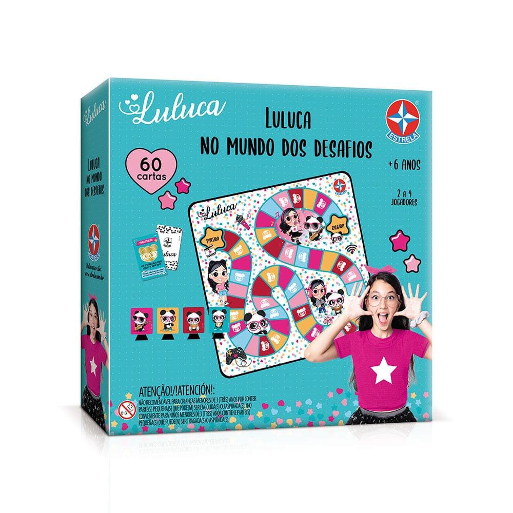 Luluca - Jogo - No Mundo dos Desafios - Estrela
