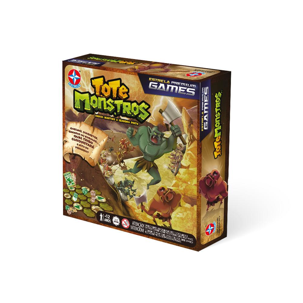 Jogo Tote Monstros - Premium Games - Estrela