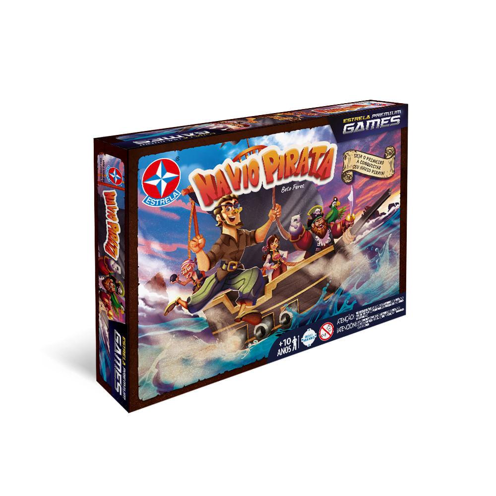 Jogo Navio Pirata - Premium Games - Estrela