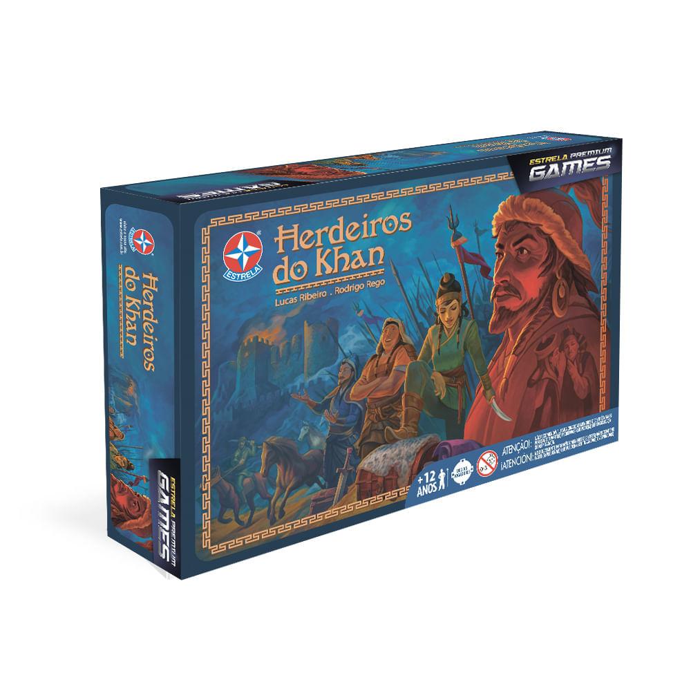 Jogo Herdeiros do Khan - Premium Games -  Estrela