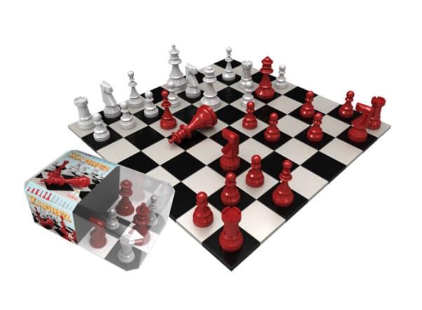 Jogo de Xadrez Oficial - Gulliver