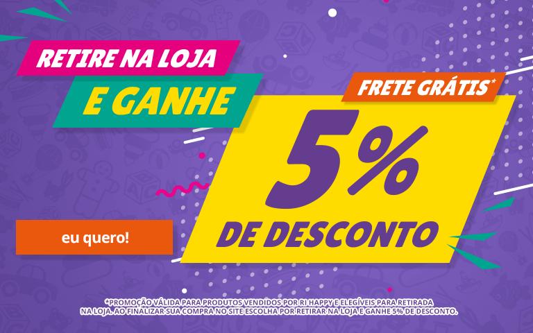 Fullbanner - Mobile - Ganhe 5% Desconto Retira Loja - act
