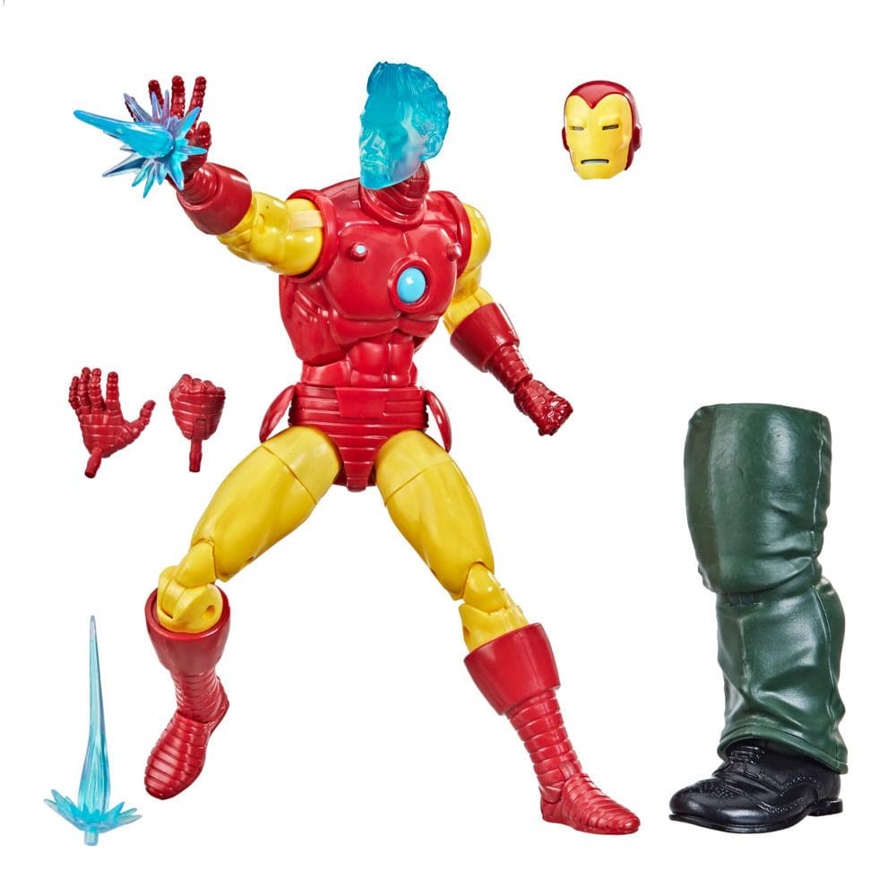 Figura Articulado - Marvel Legends - Tony Stark (A.I.) - 15 cm - Hasbro