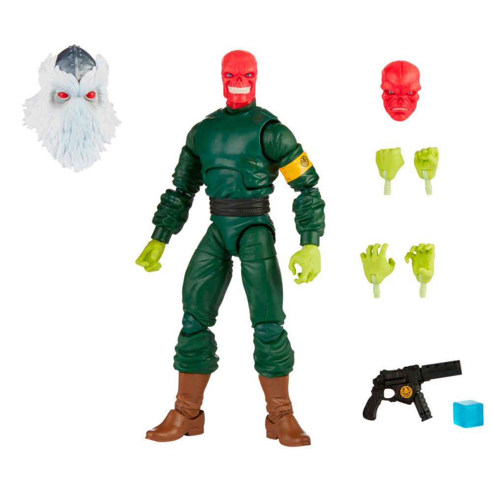 Figura Articulado - Marvel Legends - Red Skull - 15 cm - Hasbro