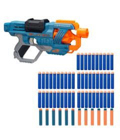 Kit-Nerf---Lancador-de-Dardos---Commander-e-Refil-50-Dardos---Hasbro