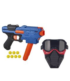 Kit-Nerf---Lancador-Rival-Finisher-XX-700-com-Mascara-de-Protecao-Vermelha---Hasbro