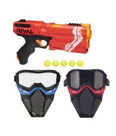 Kit-Nerf---Lancador-Rival-Kronos-Vermelha-com-2-Mascaras-de-Protecao---Hasbro