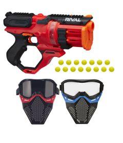 Kit-Nerf---Lancador-Rival-Rounhouse-1500-com-2-Mascaras-de-Protecao---Hasbro