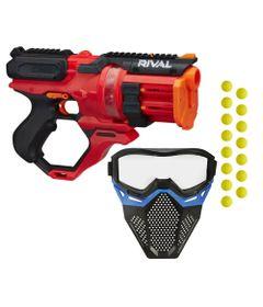 Kit-Nerf---Lancador-Rival-Rounhouse-1500-com-Mascara-de-Protecao-Azul---Hasbro