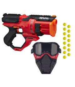 Kit-Nerf---Lancador-Rival-Rounhouse-1500-com-Mascara-de-Protecao-Vermelho---Hasbro