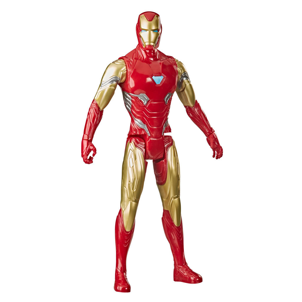 Boneco Marvel Avengers Titan Hero, Figura de 30 cm Vingadores - Homem de Ferro - Hasbro