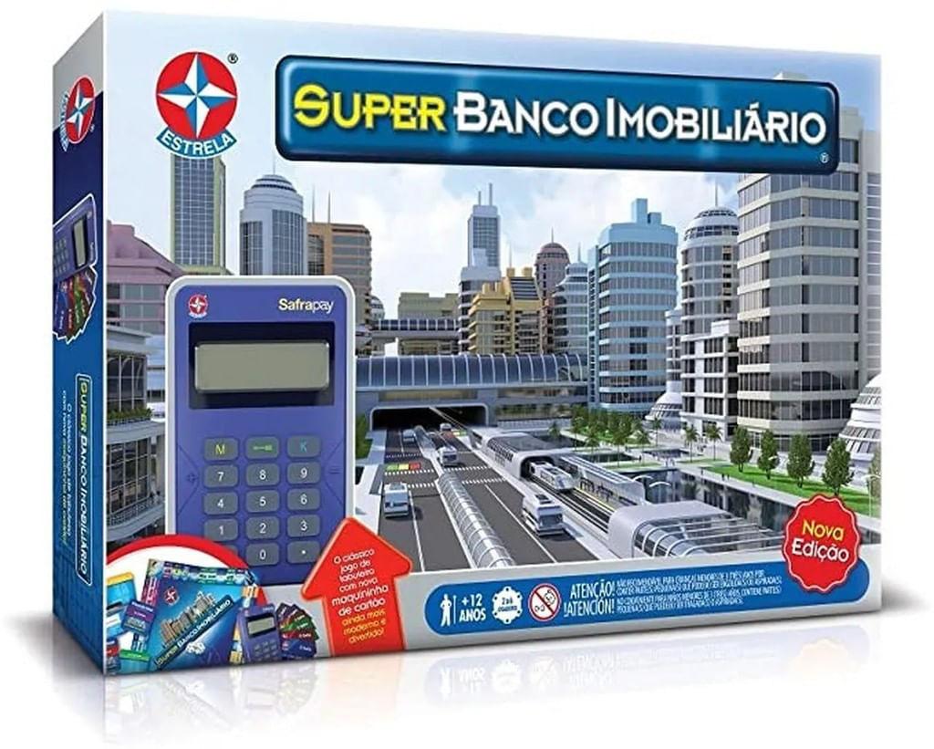 Jogo Super Banco Imobiliário - Maquina de Cartão - Estrela