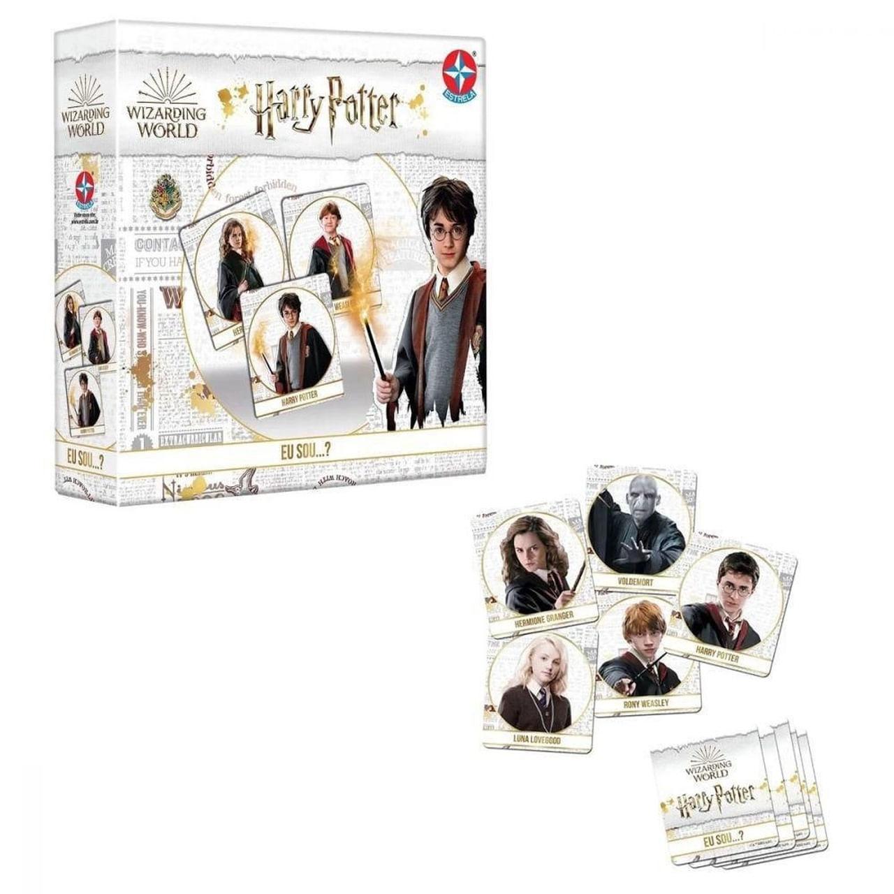 Jogo Harry Potter Eu Sou ? Wizarding World Brinquedo Estrela