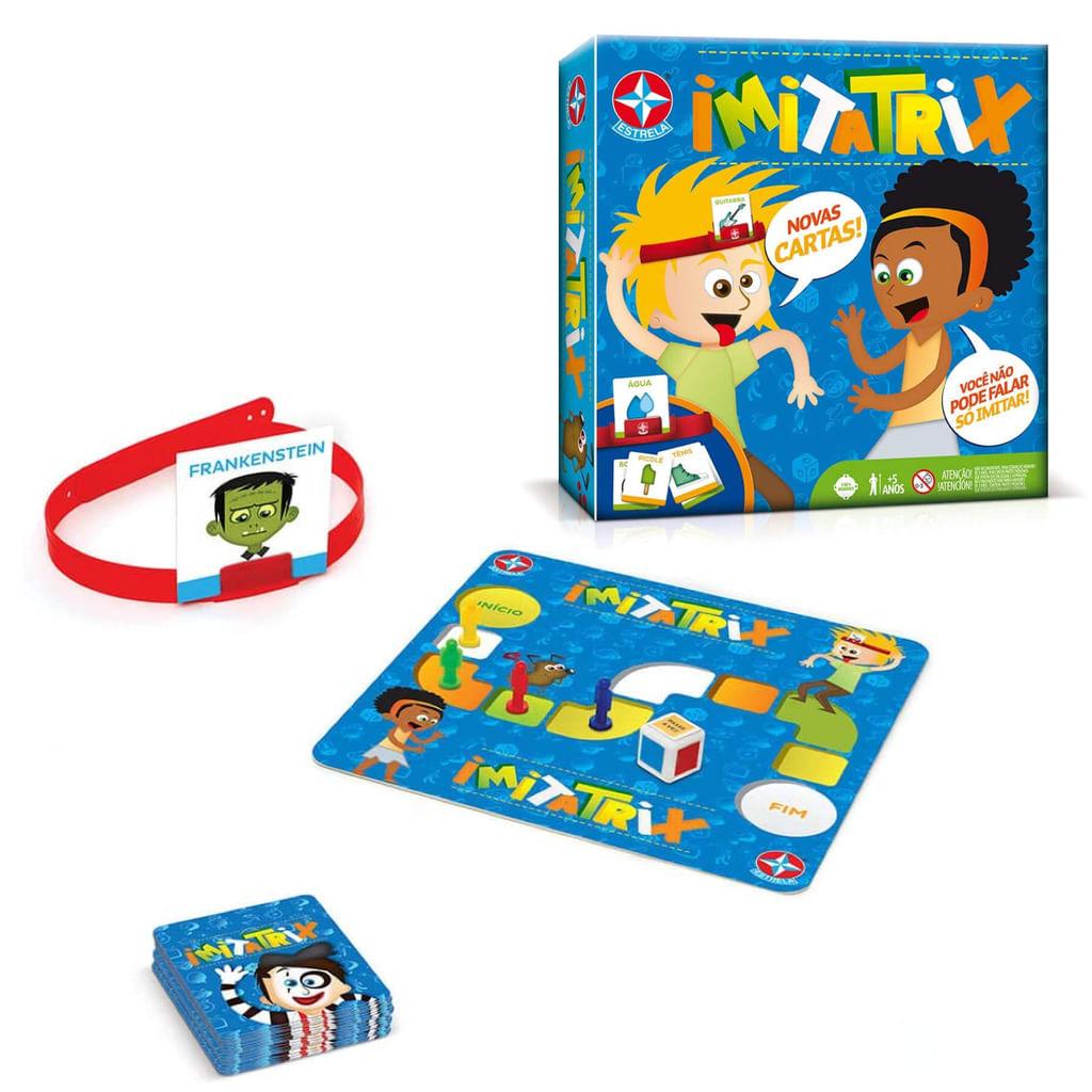 Jogo Imitatrix - Jogo de Mímica - Brinquedo Estrela