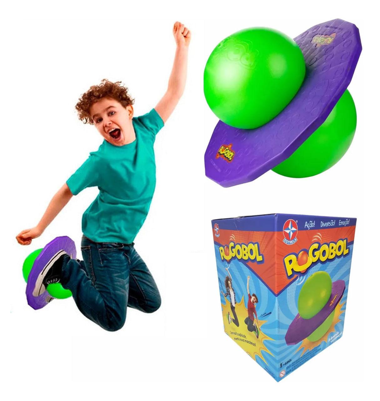 Brinquedo Pogobol - Roxo e Verde - Original Estrela